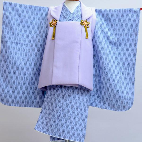 七五三 3歳 3才 三歳 三才 男の子 三歳 男児 被布着物フルセット 新品(株)安田屋x436039155