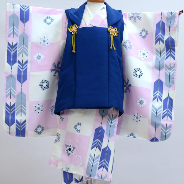 七五三 3歳 3才 三歳 三才 男の子 三歳 男児 被布着物フルセット 新品(株)安田屋x436039099