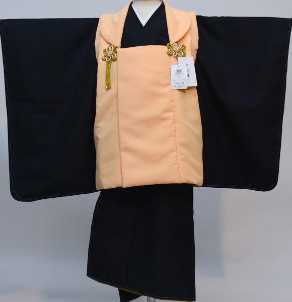 七五三 3歳 3才 三歳 三才 男の子 男児 被布 着物フルセット 生地は日本製 縫製海外 新品(株)安田屋 s644961177