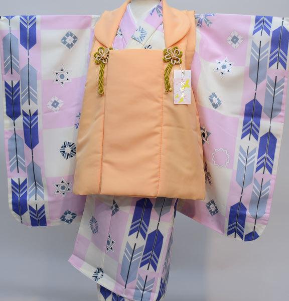 七五三 3歳 3才 三歳 三才 男の子 男児 被布 着物フルセット 生地は日本製 縫製海外 新品(株)安田屋 x603392055