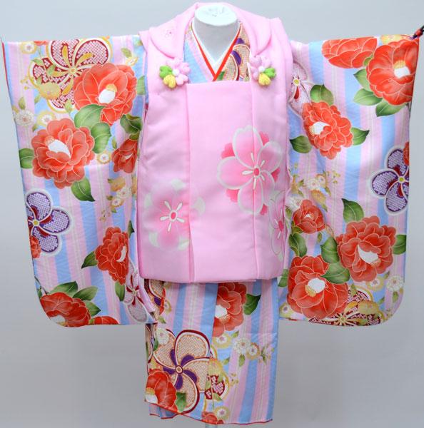 七五三 3才 3歳 三才 三歳 女児 女の子 被布着物祝着フルセット 式部浪漫 日本製 新品(株)安田屋e240656336