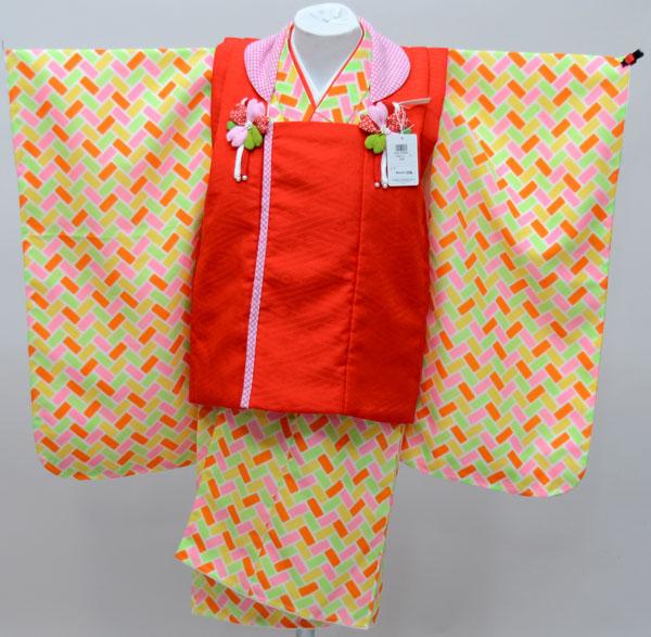 七五三 3才 3歳 三才 三歳 女児 女の子 被布着物祝着フルセット 式部浪漫 日本製 新品(株)安田屋e240656260