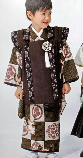 七五三 3歳 3才 三歳 三才 男の子 男児 被布 着物フルセット ブランド着物 乙葉 新品(株)安田屋 h362994491