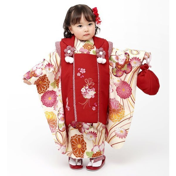 七五三 3歳 3才 三歳 三才 女児 女の子 被布着物祝着フルセット 半衿足袋付 小町 2018年モデル 新品(株)安田屋 u263776827