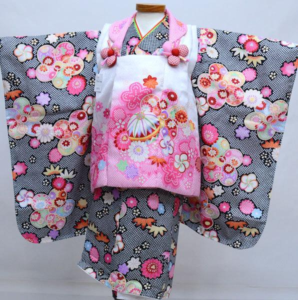 七五三 3歳 3才 三歳 三才 女児 女の子 被布 着物フルセット fairy tale 祝着 新品 (株)安田屋 t669297709