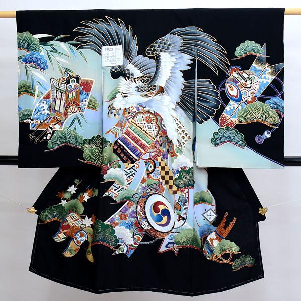 お宮参り産着 のしめ 祝着 着物 一つ身 男の子 男児 正絹 羽二重 新品(株)安田屋 s607420478