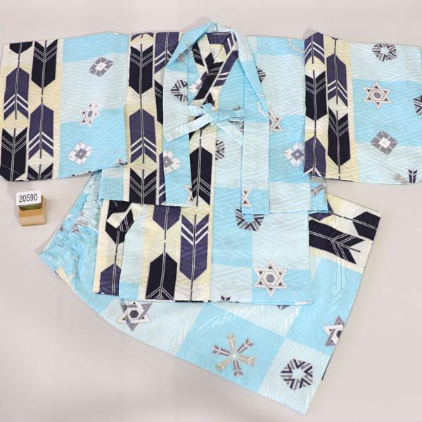 一つ身 二部式 羽織着物セット ベビー用 男児用 新品 (株)安田屋 v448135565