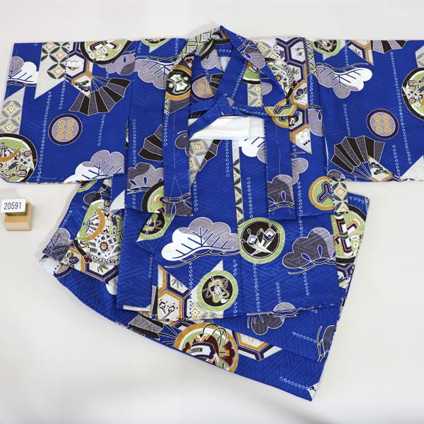 一つ身 二部式 羽織着物セット ベビー用 男児用 新品 (株)安田屋 v448135557