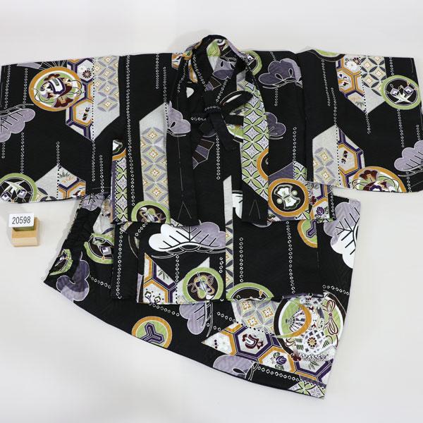 一つ身 二部式 羽織着物セット ベビー用 男児用 新品 (株)安田屋 v448135489