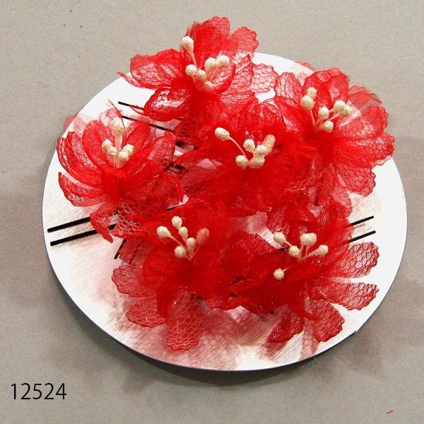 髪飾り 美しい Uピン セール特価 小花セット 高級 x610609337 新品 株 安田屋