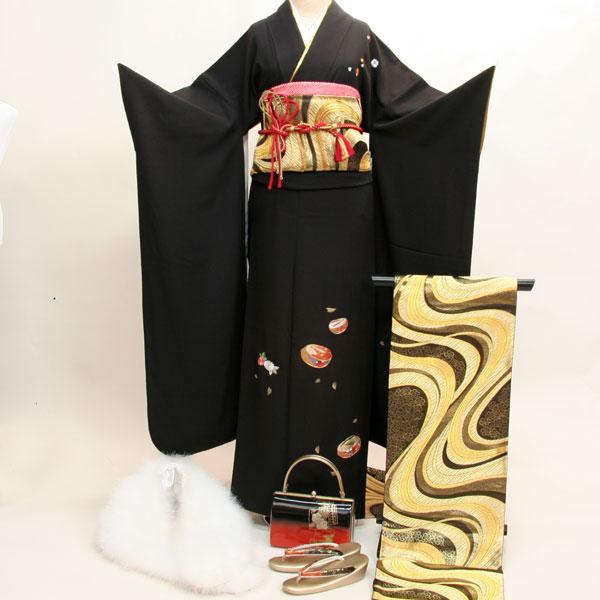 振袖フルセット 正絹 着物 刺繍 7日間レンタル 小物まですべて揃う 20点一式 成人式、結婚式、結納にどうぞ!(株)安田屋 t637776212