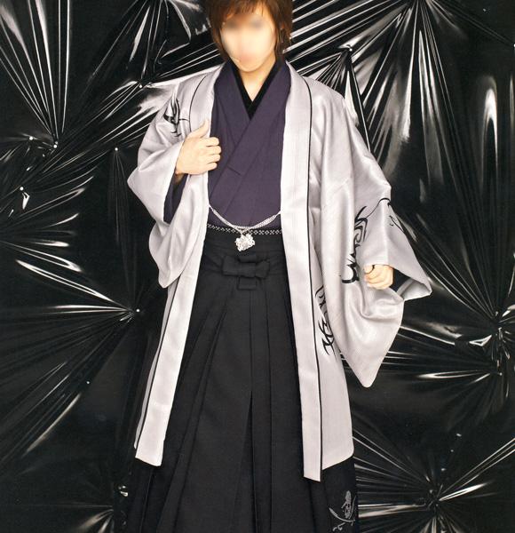 羽織 袴セット 男性用 日本製 JAPAN STYLE Lサイズ 新品(株)安田屋 n333232552