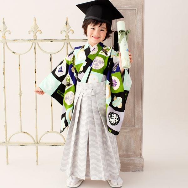 着物袴セット 男児 男の子 5才~6才 五才~六才 5歳~6歳 五歳~六歳 105cm~115cm 着物ブランド:JAPAN STYLE 卒園式にどうぞ! 新品 (株)安田屋 l380396907