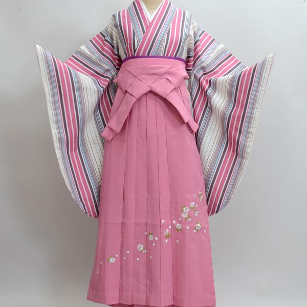 二尺袖着物袴フルセット 京のちたる 卒業式にどうぞ!新品(株)安田屋 x473352786