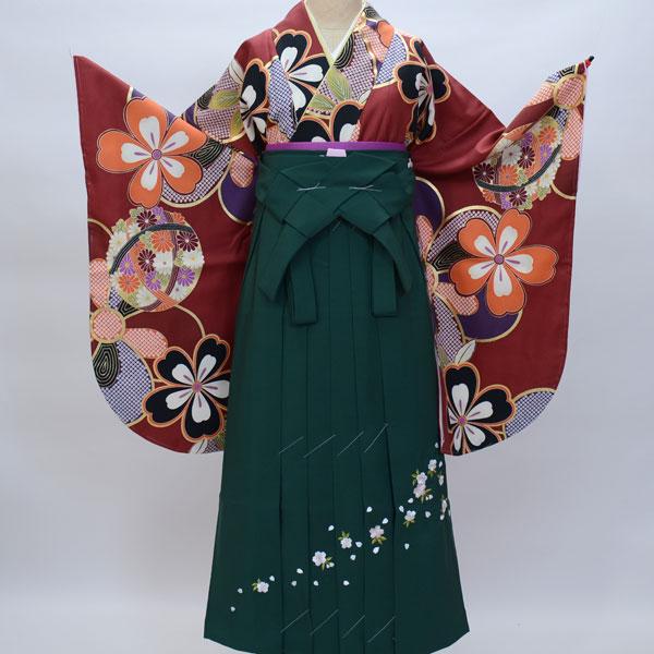 着物袴セット ジュニア用へ直し135cm~143cm 絹の様な合繊 新品 (株)安田屋 b187648121