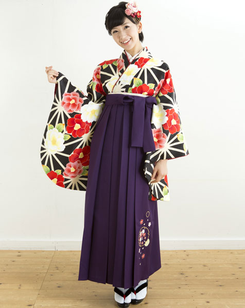 着物袴セット ジュニア用へ直し144cm~150cm 着物のブランド:夢千代 新品 (株)安田屋 k203244678