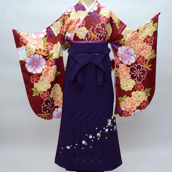 着物袴セット ジュニア用へ直し144cm~150cm 豪華絢爛 卒業式にどうぞ! 新品 (株)安田屋 b295688744