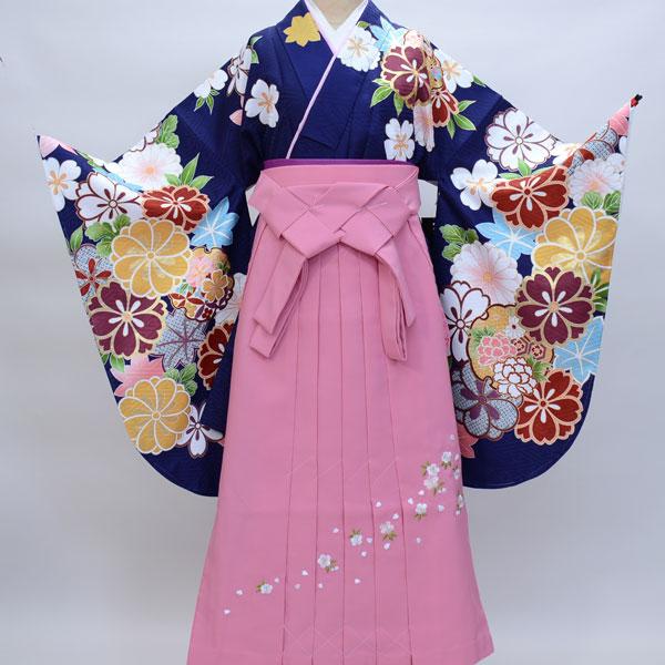 着物袴セット ジュニア用へ直し135cm~143cm From KYOTO 新品 (株)安田屋 k243146866