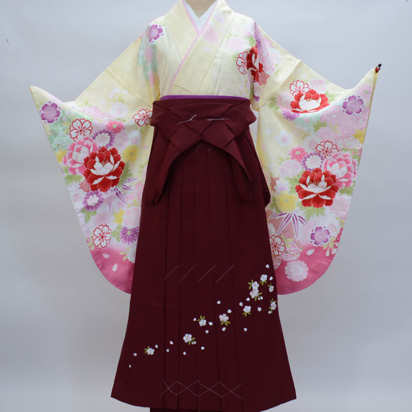 着物袴セット ジュニア用へ直し144cm~150cm 絹の様な合繊 新品 (株)安田屋 c536403514