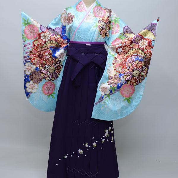 着物袴セット ジュニア用へ直し144cm~150cm From KYOTO 卒業式にどうぞ! 新品 (株)安田屋 n181905446