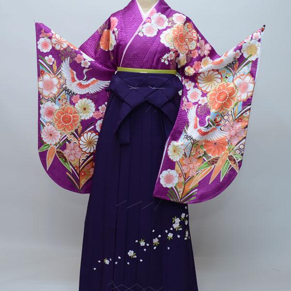 着物袴セット ジュニア用へ直し144cm~150cm From KYOTO 卒業式にどうぞ! 新品 (株)安田屋 g186837946