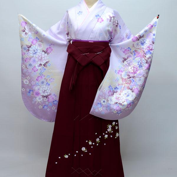 着物袴セット ジュニア用へ直し135cm~143cm From KYOTO 卒業式にどうぞ! 新品 (株)安田屋 g186466899