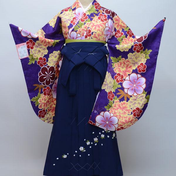 着物袴セット ジュニア用へ直し144cm~150cm 豪華絢爛 卒業式にどうぞ! 新品 (株)安田屋 f283485157