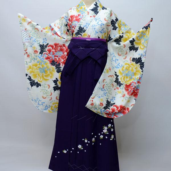 着物袴セット ジュニア用へ直し144cm~150cm ANEN 卒業式にどうぞ! 新品 (株)安田屋 f187183526