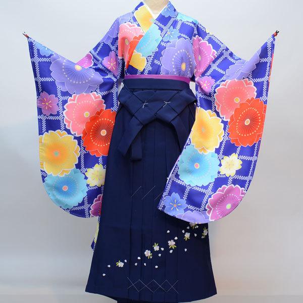 着物袴セット ジュニア用へ直し135cm~143cm 千紫万紅 新品(株)安田屋 n306509441