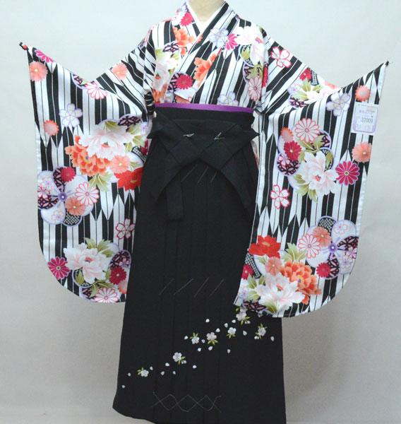 二尺袖 着物 袴フルセット 陽気な天使 袴変更可能 着物丈は着付けし易いショート丈 卒業式 新品(株)安田屋 t698463224
