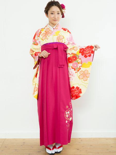 着物袴セット ジュニア用へ直し144cm~150cm 夢千代 新品 (株)安田屋 o215938993