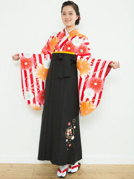 着物袴セット ジュニア用へ直し144cm~150cm 着物のブランド:夢千代 新品 (株)安田屋 u115249632