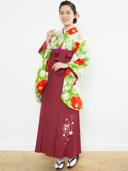 着物袴セット ジュニア用へ直し144cm~150cm 着物のブランド:夢千代 新品 (株)安田屋 k225963563