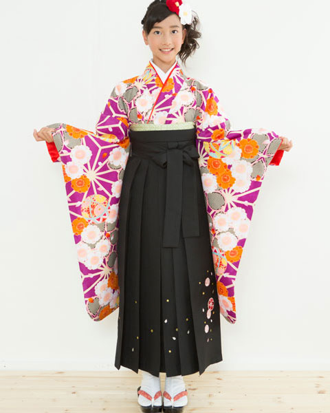 着物袴セット ジュニア用 145cm~154cm 着物ブランド:小町 卒業式にどうぞ! 新品 (株)安田屋 c610324320