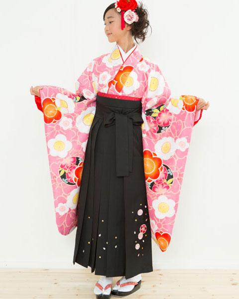 着物袴セット ジュニア用 145cm~154cm 着物ブランド:小町 卒業式にどうぞ! 新品 (株)安田屋 n183361661