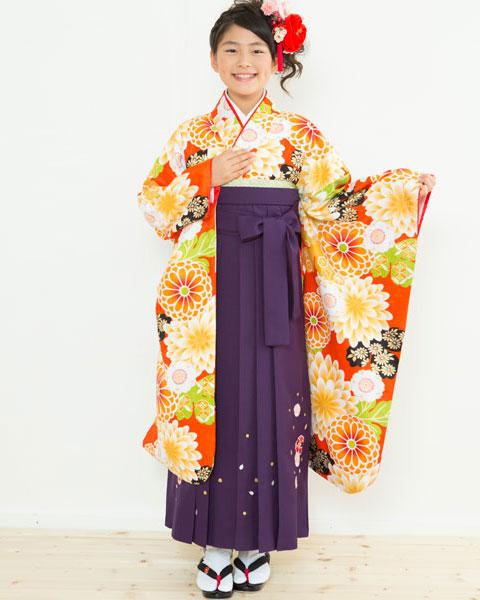 着物袴セット ジュニア用 145cm~154cm 着物ブランド:小町 卒業式にどうぞ! 新品 (株)安田屋 b367030922