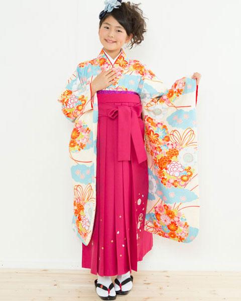 着物袴セット ジュニア用 145cm~154cm 着物ブランド:小町 卒業式にどうぞ! 新品 (株)安田屋 t560516087