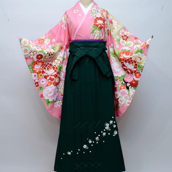 着物袴セット ジュニア用へ直し144cm~150cm From KYOTO 卒業式にどうぞ! 新品 (株)安田屋 n187035414