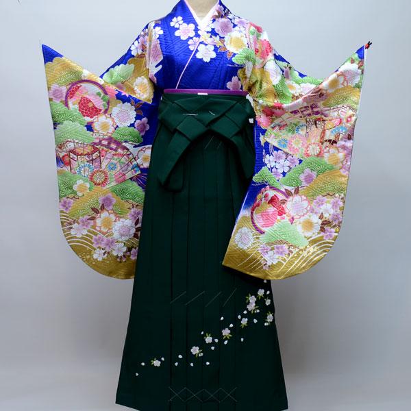着物袴セット ジュニア用へ直し144cm~150cm From KYOTO 卒業式にどうぞ! 新品 (株)安田屋 v476668268