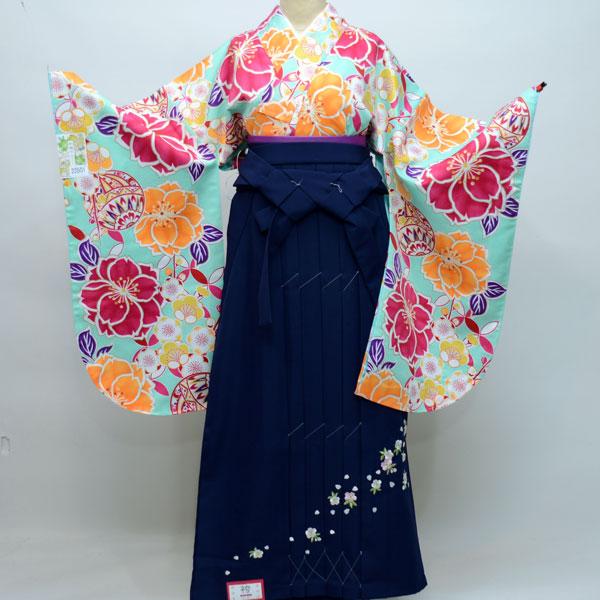 着物袴セット ジュニア用へ直し135cm~143cm 和遊日 卒業式にどうぞ! 新品 (株)安田屋 k257695620