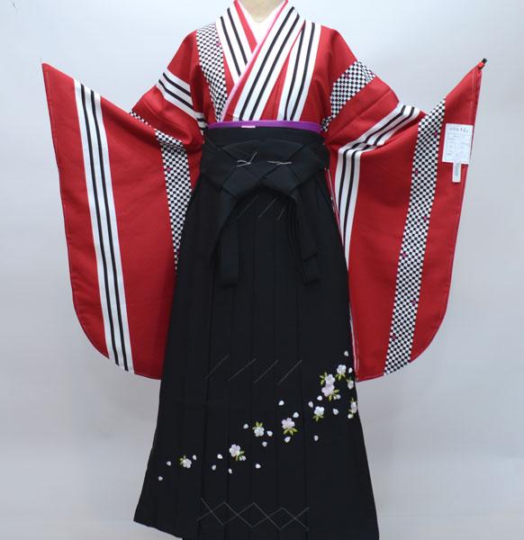 着物袴セット ジュニア用へ直し144cm~150cm 着物生地:日本製 新品 (株)安田屋 r176688254