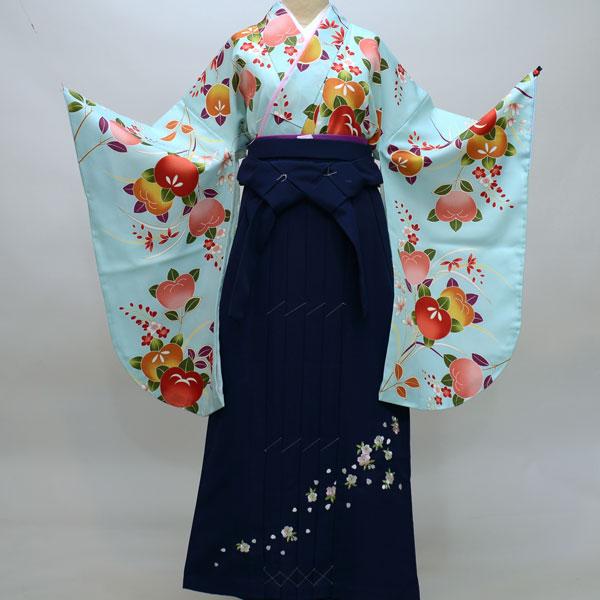 着物袴セット ジュニア用へ直し135cm~143cm 袴変更可能 着物生地は日本製 袴と縫製は海外 新品 (株)安田屋 u131829536
