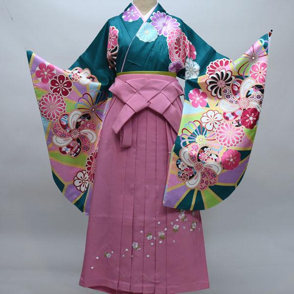 二尺袖着物袴フルセット From KYOTO 卒業式に 新品(株)安田屋 c587318558