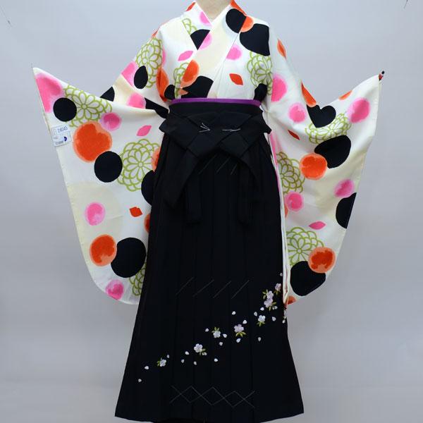 着物袴セット ジュニア用 145cm~154cm 着物生地は日本製 縫製は海外 卒業式にどうぞ! 新品 (株)安田屋 q146004227