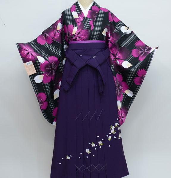 着物袴セット ジュニア用へ直し144cm~150cm 古都小町 卒業式にどうぞ! 新品 (株)安田屋 f239950207