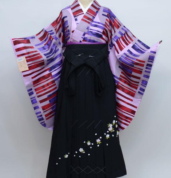 二尺袖着物袴フルセット 古都小町 卒業式に 新品 (株)安田屋 q159273388