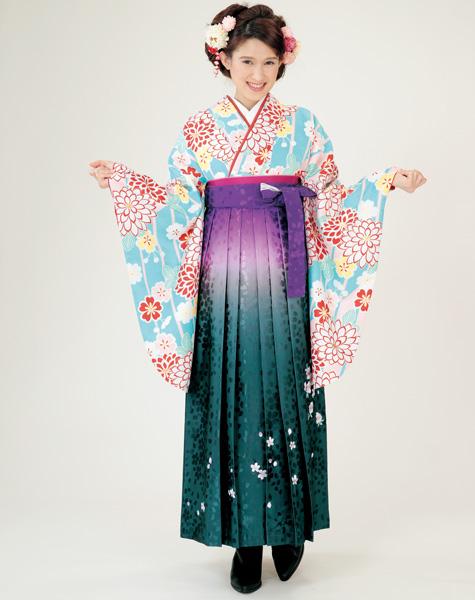 二尺袖着物袴フルセット 着物のブランド HL アッシュエル2018年最新モデル ショート丈 卒業式に 新品 (株)安田屋 e248088866