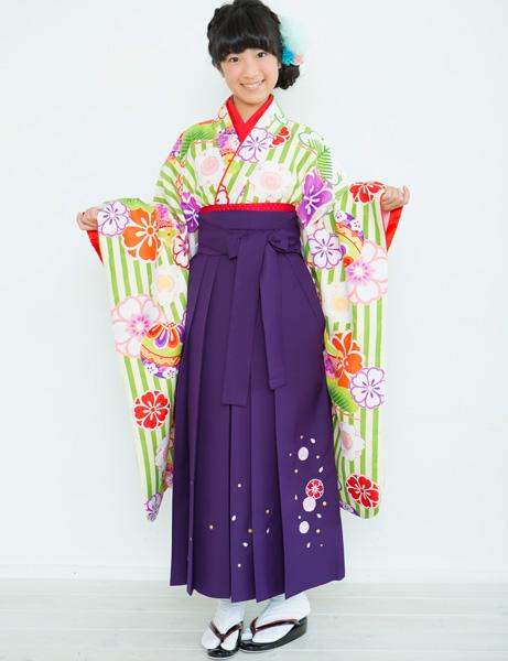 着物袴セット ジュニア用 145cm~154cm 着物ブランド:小町 半衿の色は白地 卒業式にどうぞ! 新品 (株)安田屋 r203224707