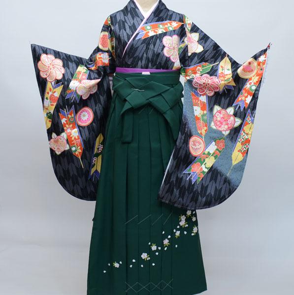着物袴セット ジュニア用へ直し144cm~150cm From KYOTO 新品(株)安田屋 s542690619