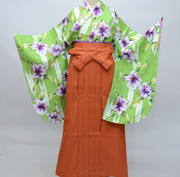 着物袴セット ジュニア用へ直し144cm~150cm ひさかたろまん 卒業式にどうぞ! 新品 (株)安田屋 h281866426